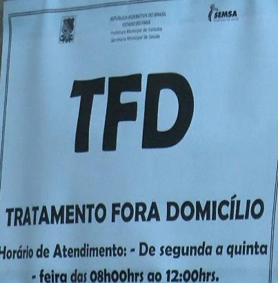 Secretaria municipal de saúde afirma que a procura pelo beneficio do TFD cresceu bastante nos últimos meses
