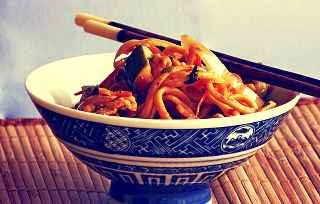 Chinese chow mein recipe