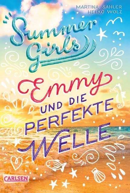 """Das Bücherboot auf Küstenkidsunterwegs hat diesmal ganz viele Kinderbücher, Jugendbücher und sogar ein paar Bücher für Erwachsene an Bord, die sich allesamt um das Thema """"Ferien und Urlaub am Meer"""" drehen! In """"Emmy und die perfekte Welle"""", Summer Girls Band 2, gibt es eine tolle Insel-Liebesgeschichte als Jugendbuch."""