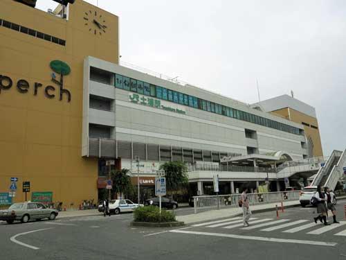 Tsuchiura Station, Ibaraki Prefecture.