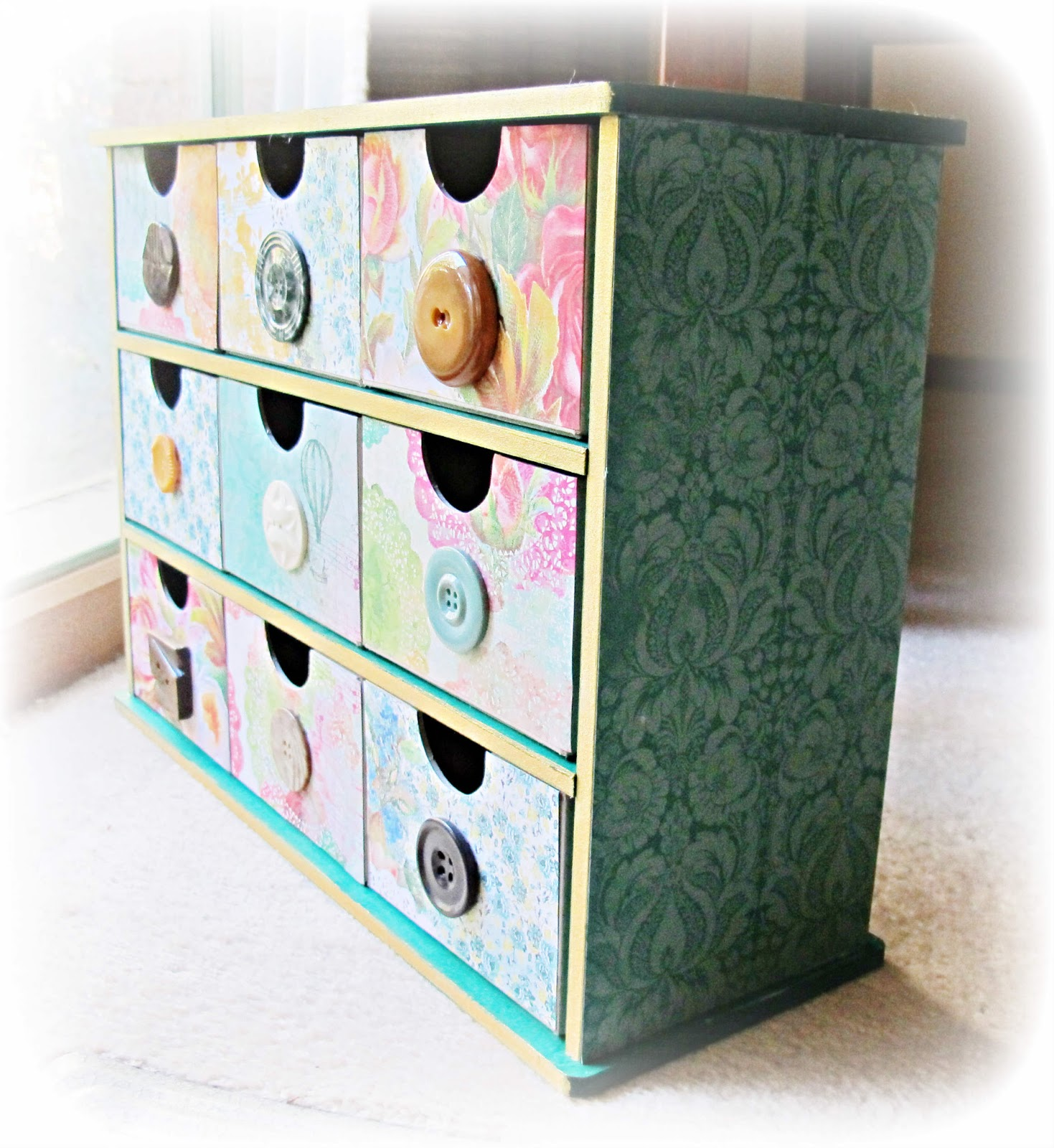 image kaisercraft medium storage drawers 9 drawer secret admirer