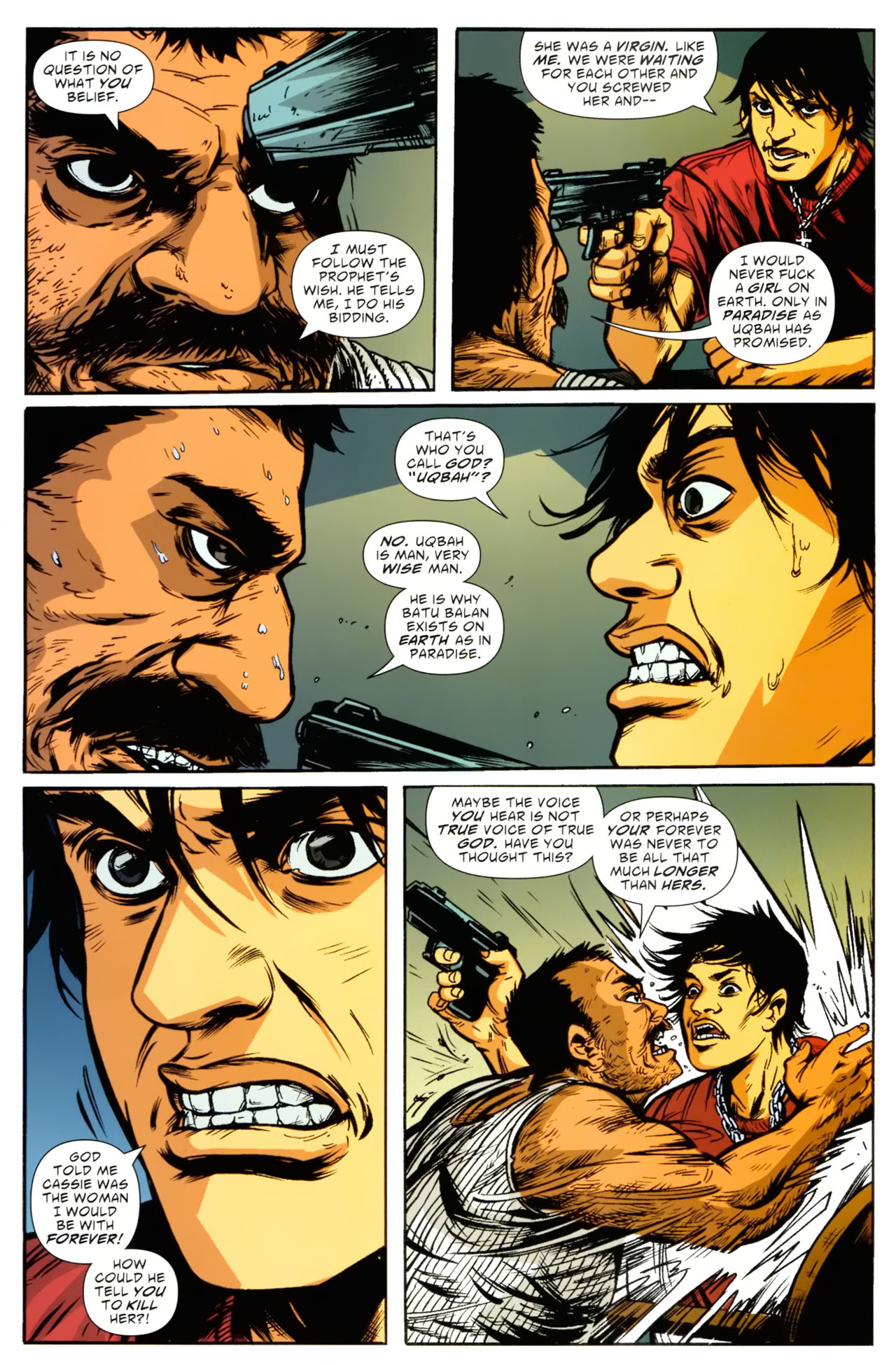 Read online American Virgin comic -  Issue #9 - 15