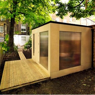 subterranean space garden backyard huts cabins sheds. Fine Cabins Londonu0027s Most Economic Garden Studio And Subterranean Space Garden Backyard Huts Cabins Sheds P