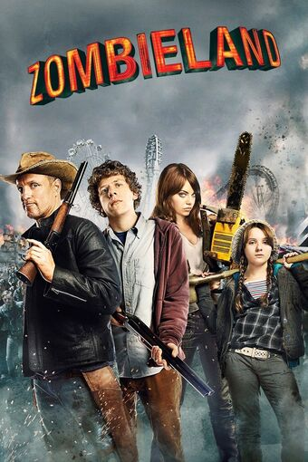 Zombieland Double Tap 2019 full hd Hindi ORG Dual Audio 1GB BluRay 720p ESubs