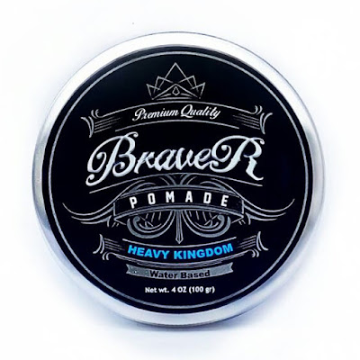 Braver Pomade Type Water Based Scent Cool Citrus Heavy Hold