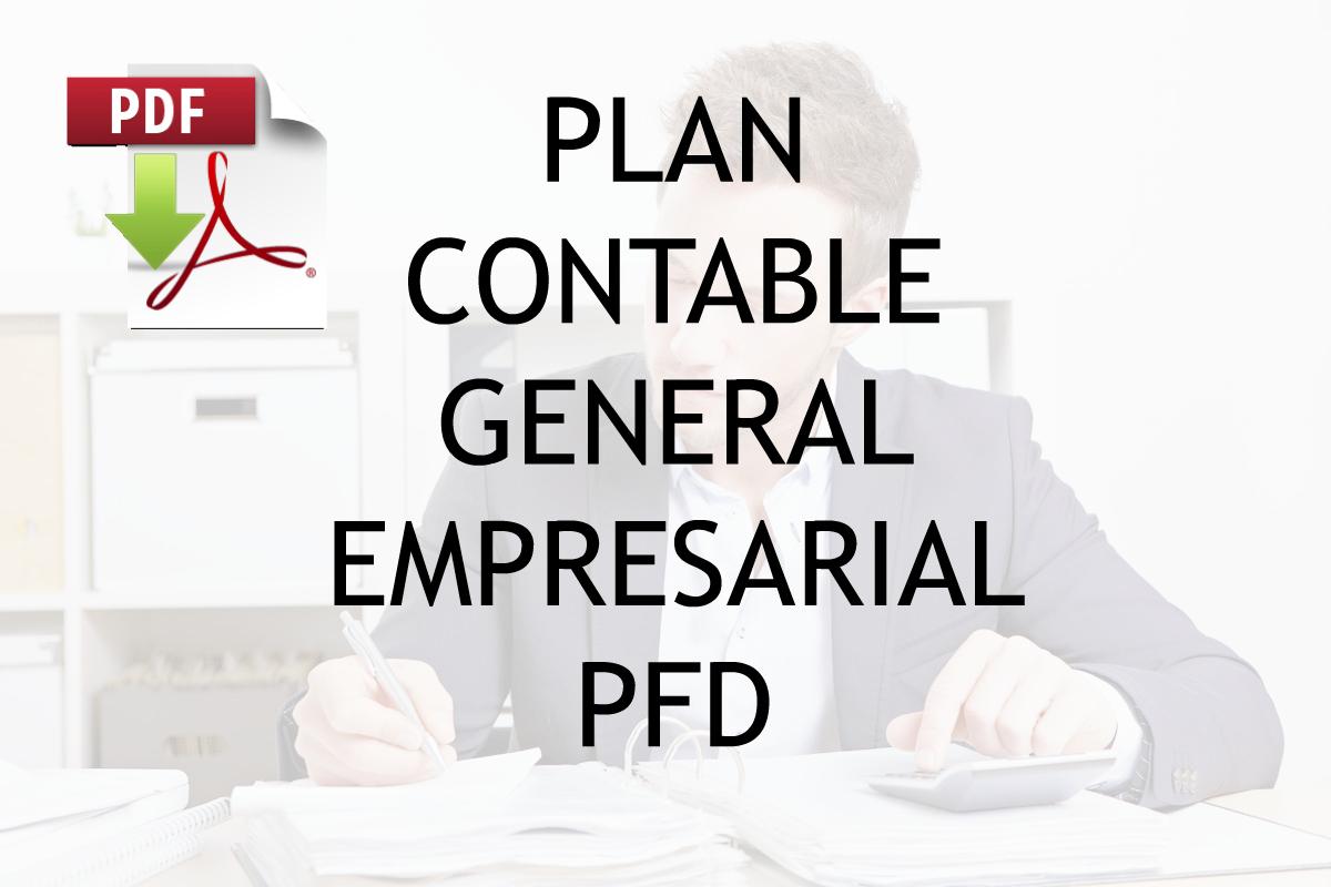 Contabilidad & Liderazgo ®: PLAN CONTABLE GENERAL EMPRESARIAL PDF