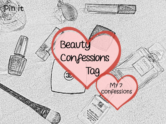 The Beauty Confessions Tag