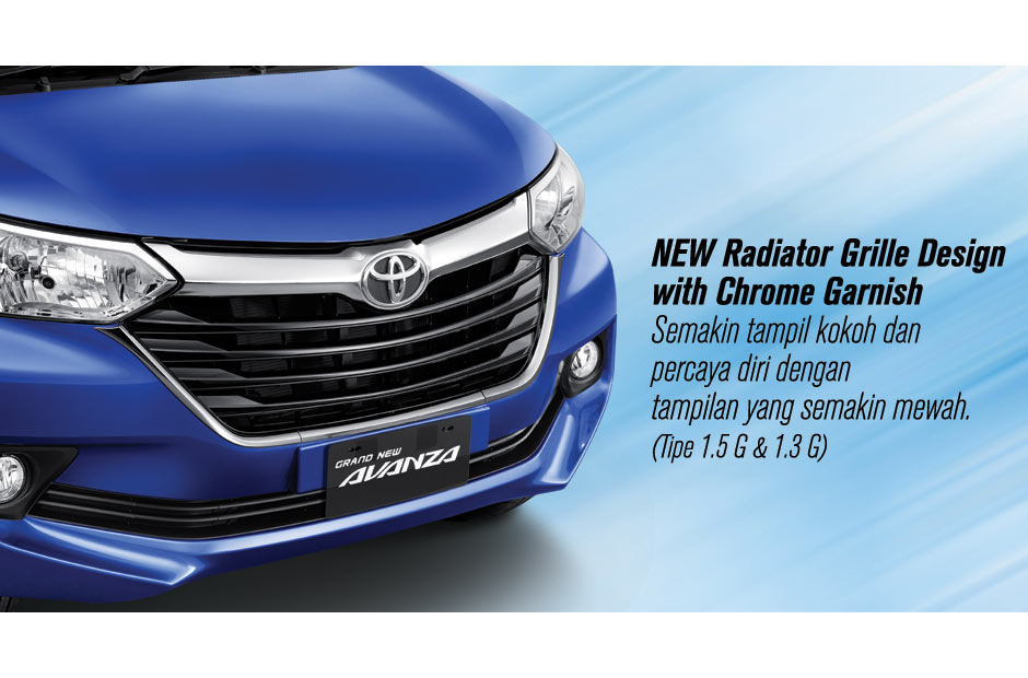 lampu depan grand new veloz all camry sport eksterior toyota avanza 2015 astra indonesia selain grill tampilan pada juga mengalami perubahan desain sehingga lebih elegan untuk penerangan optimal
