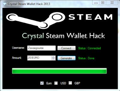 Steam Wallet Account Blockchain Global