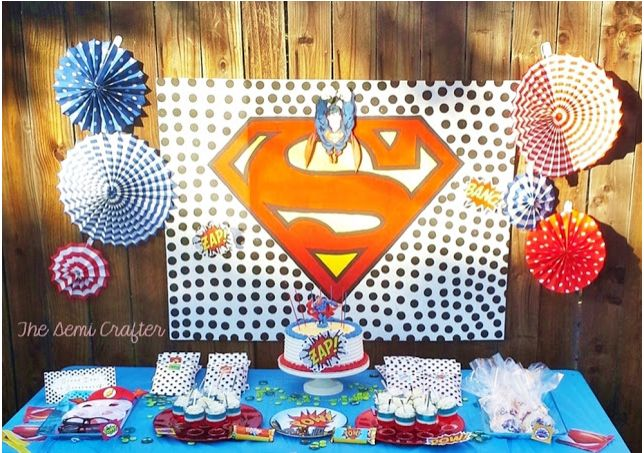 Super Man Birthday Party
