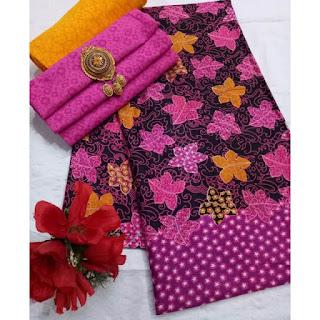 Kain Batik dan Embos 472a1 Pink