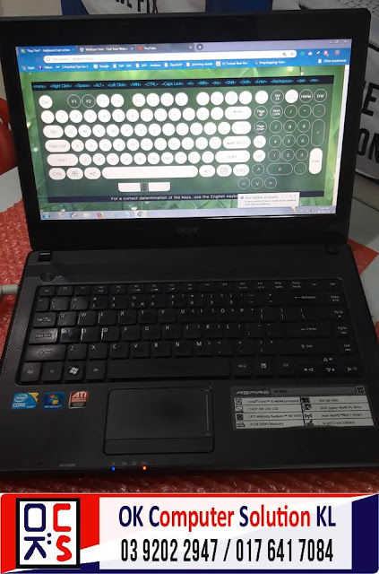 [SOLVED] MASALAH LAPTOP ACER ASPIRE 4738G | REPAIR LAPTOP CHERAS 5