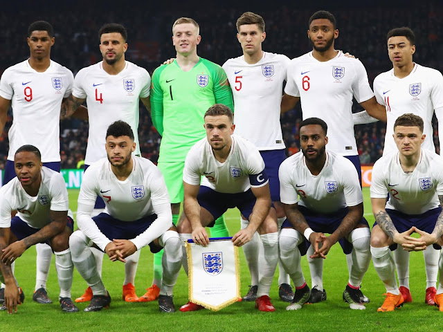England players list for FIFA world Cup Russia