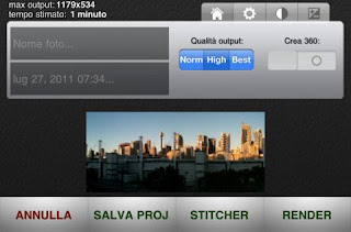 APP IPHONE PER SCATTARE FOTO PANORAMICHE