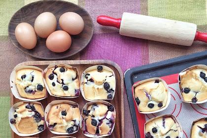 Blueberry Muffins (蓝莓松饼)