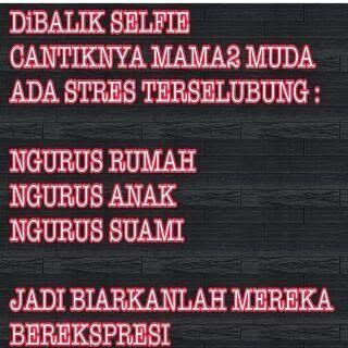 Gambar dp bbm foto selfie mamah muda