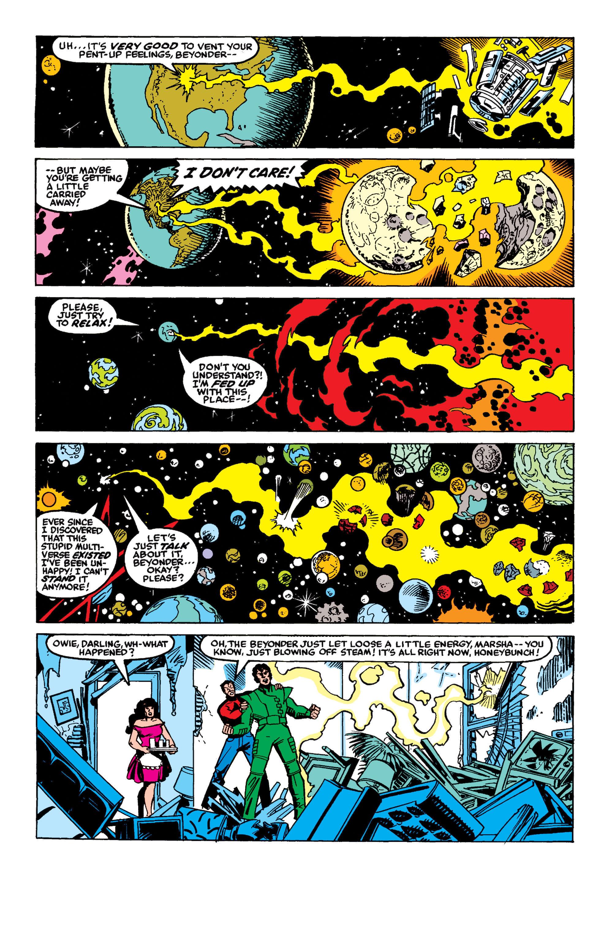 Read online Secret Wars II comic -  Issue #8 - 3