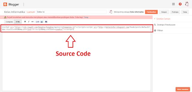 Kelas Informatika - Source Code Daftar Isi Model List