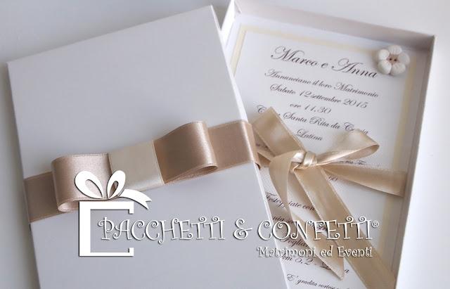 spesso Pacchetti e Confetti: Wedding Shop BK16