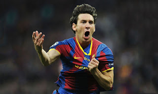 Lionel Messi fastest footballers