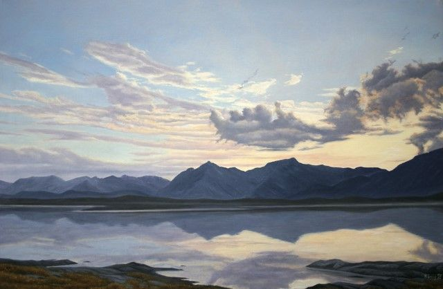 Немецкий художник. Manfred Hoenig