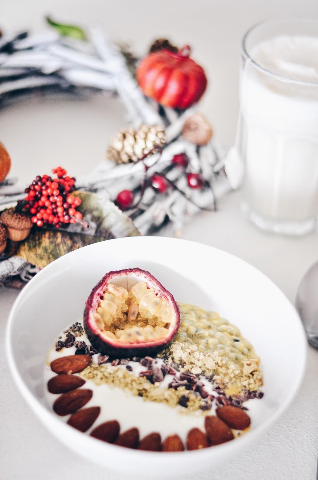 zdrowe jesienne śniadanie