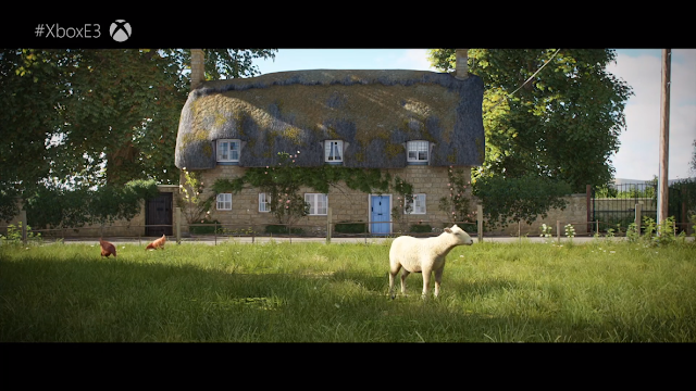 FORZA Horizons 4 goat