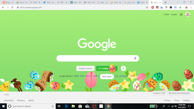Google Celebrates Easter Egg Day On Google
