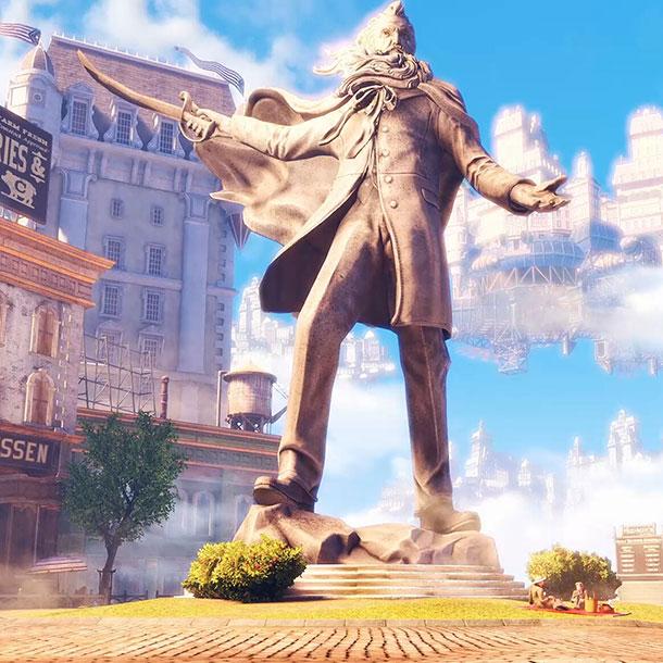 Bioshock Infinite Statue Wallpaper Engine
