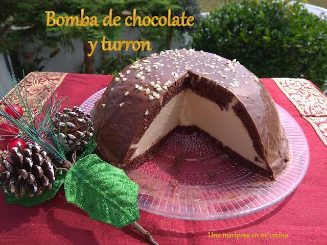 Bomba De Chocolate Y Turrón