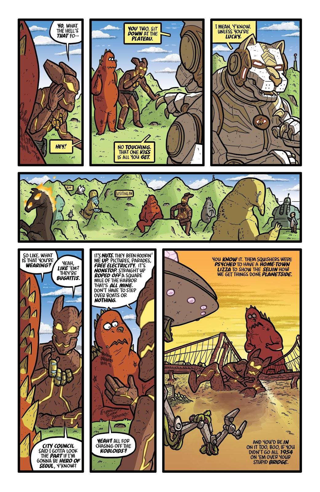 Read online Kaijumax: Season Four comic -  Issue #2 - 11