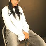 Andrea Rincon, Selena Spice Galeria 19: Buso Blanco y Jean Negro, Estilo Rapero Foto 40