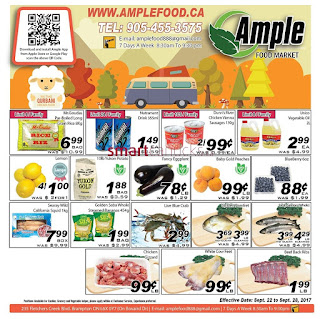 Ample weekly Flyer September 22 - 28, 2017