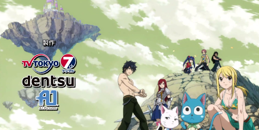 Top 5 Fairy Tail Opening Theme