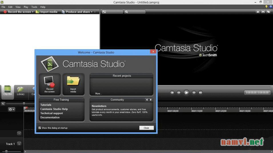 Phần mềm quay video màn hình - Camtasia Studio 8.3 Full
