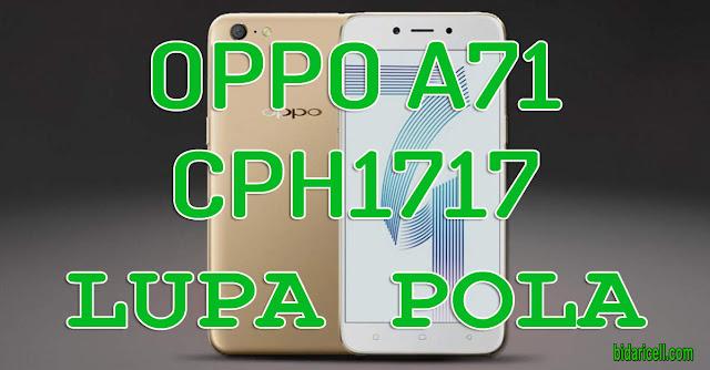 OPPO A71 LUPA POLA-SANDI