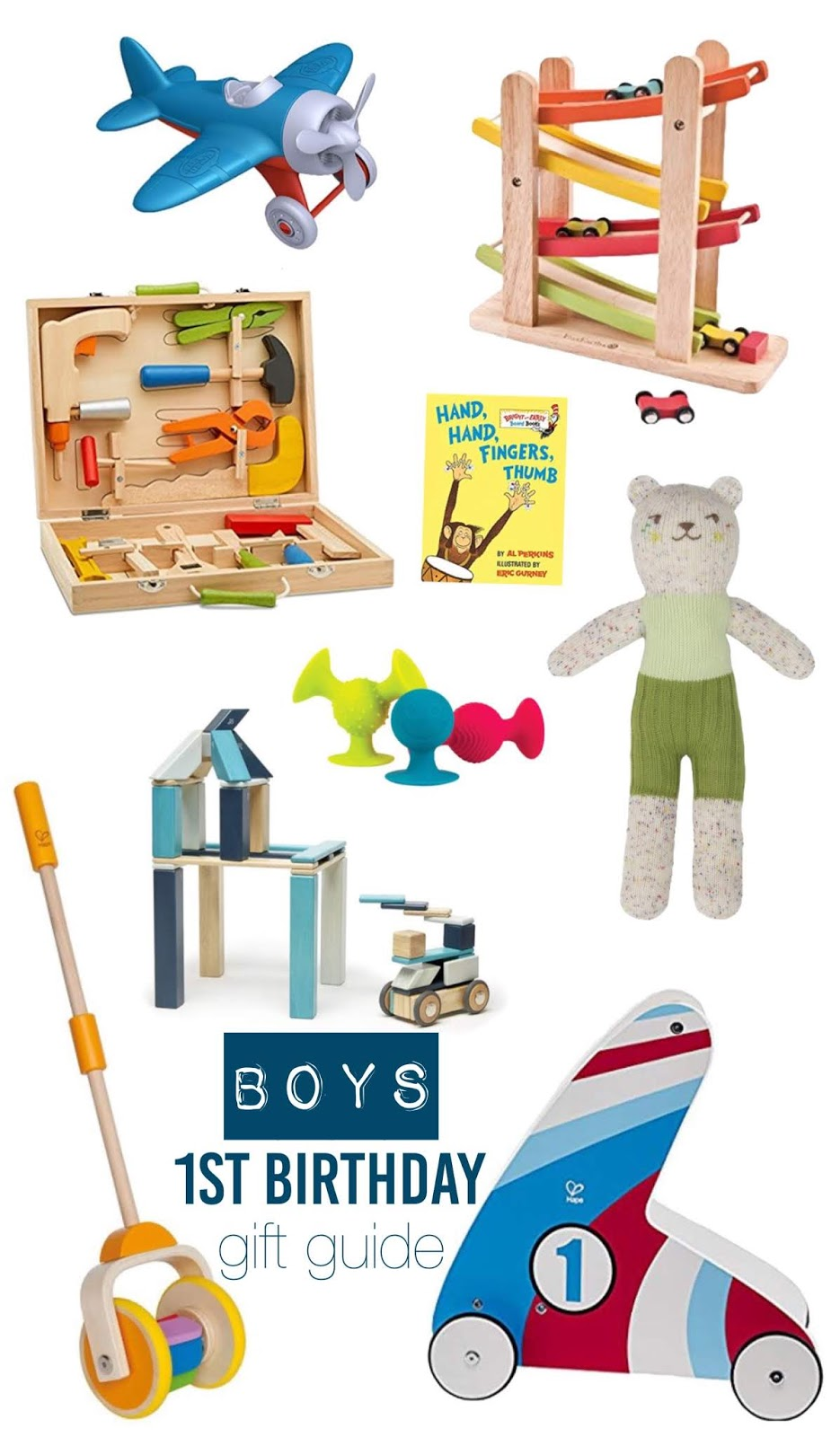 First Birthday Gift Guide For Boys
