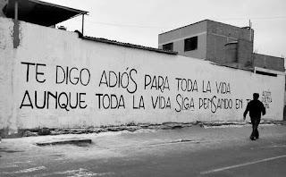 """""""Te digo adiós para toda la vida aunque toda la vida siga pensando en ti."""" José Ángel Buesa"""