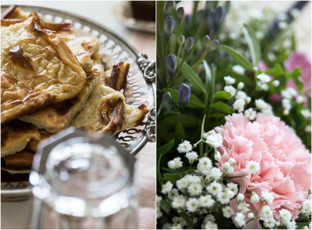 brunssi, syntymäpäivät, ruokailu, kattaus, keittiö, ruoka, kakku, aamiainen, mansikka, Visualaddict, valokuvaaja Frida Steiner, foodlover