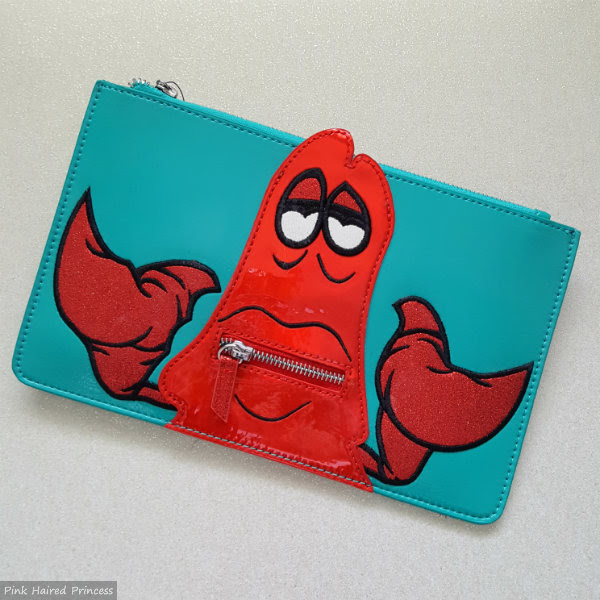 danielle nicole disney the little mermaid sebastian pouch