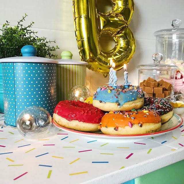Mini Candy Bar de Cumpleaños
