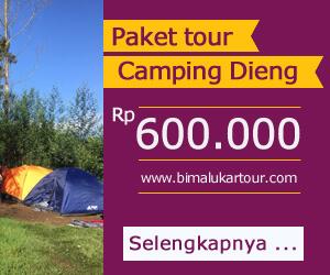 paket wisata camping ke dieng