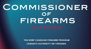 Commissioner of Firearms - 2013 Report, Ottawa