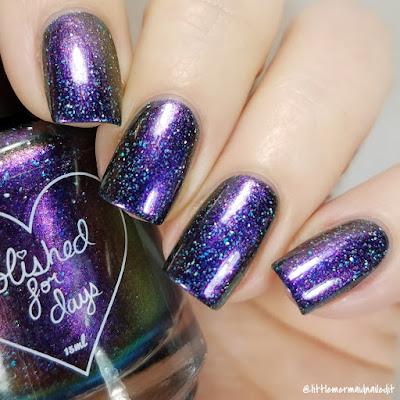 Polished For Days Rockin' Eve December 2017 Polish Pickup Swatches and Review