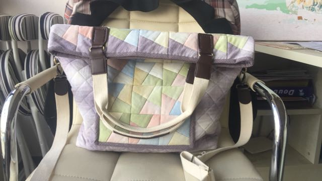 "Patchwork Bag ""Windmill"""