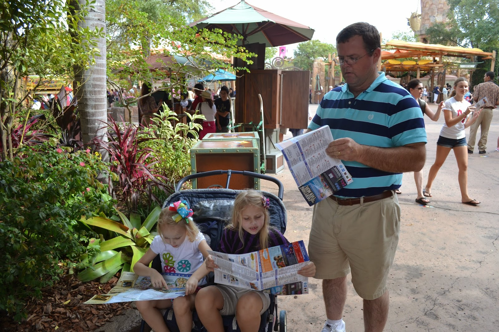 Getting our maps straight at Universal - Islands of Adventure
