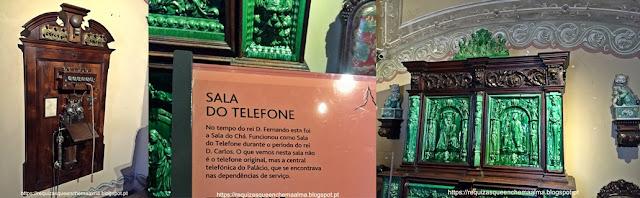 Sala do Telefone, Palácio da Pena