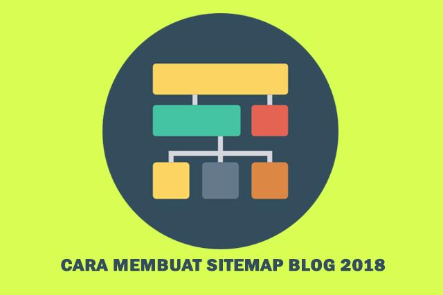 sitemap ini sanggup memudagkan pengunjung blog sahabat untuk mencari sebuah artikel Cara Membuat Sitemap blog 2018