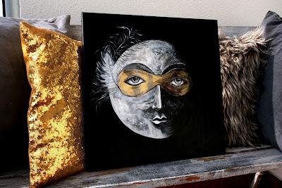 Księżyc w masce
