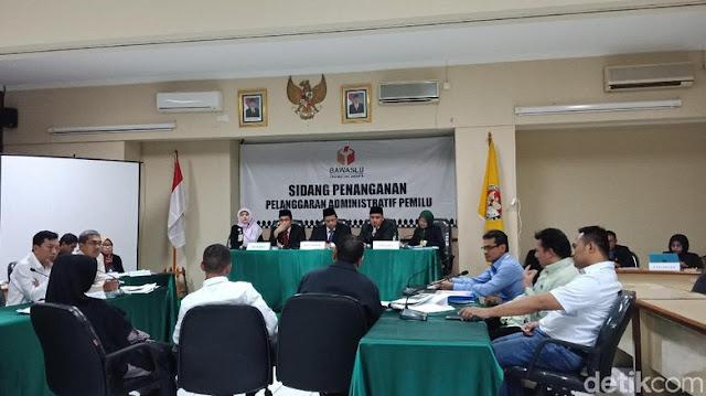 Sidang Videotron Jokowi-Ma'ruf, Terlapor Tak Bawa Surat Kuasa